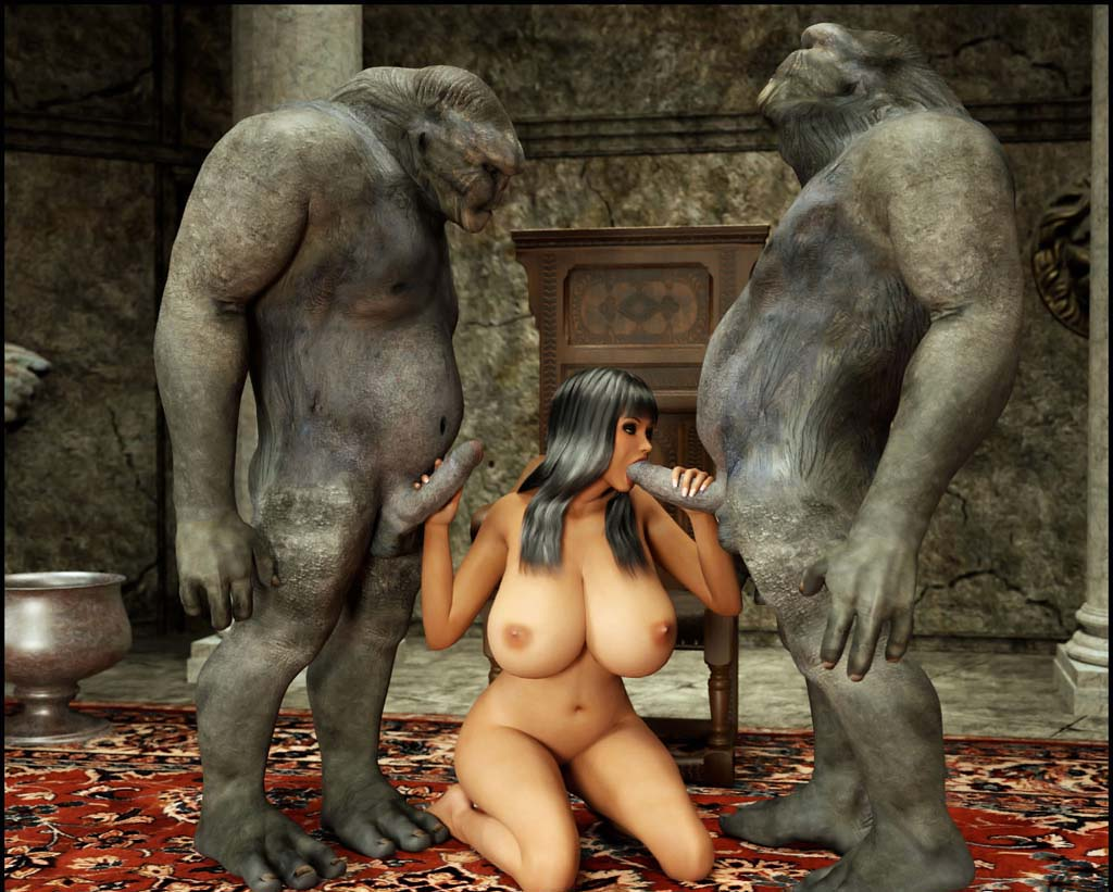 Monster sexy in 3d creatures naked vids