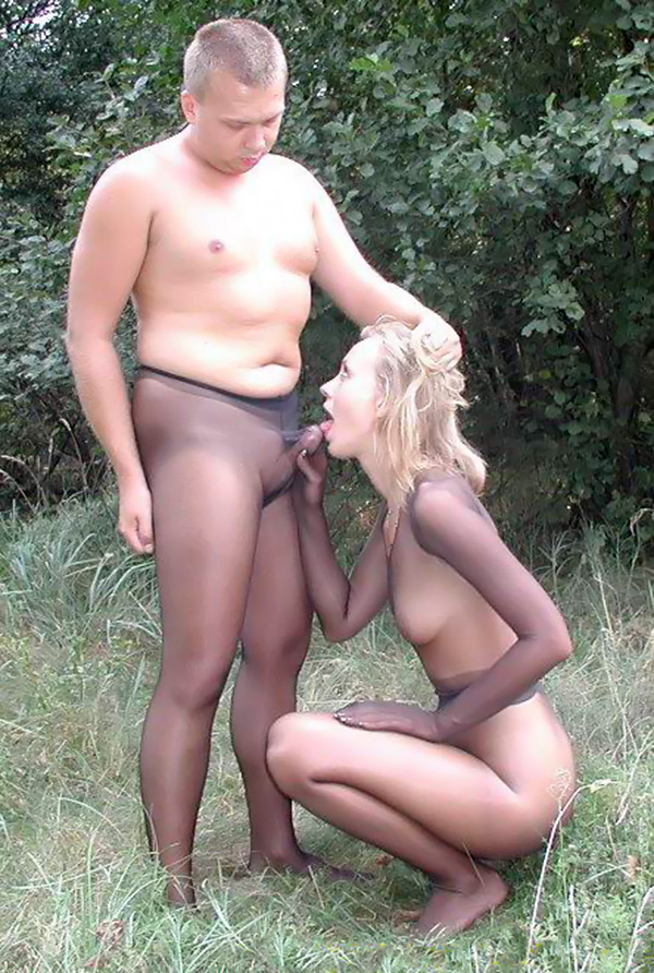 Can men in pantyhose couples question