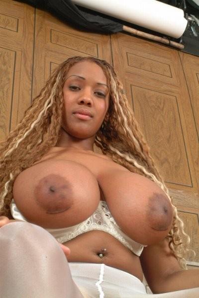 Big Huge Black Tits