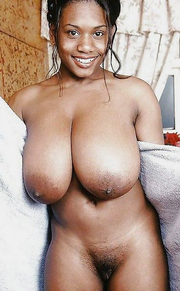 Black girl with great tits