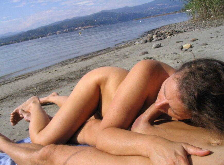 At the nudist beach in miami 1