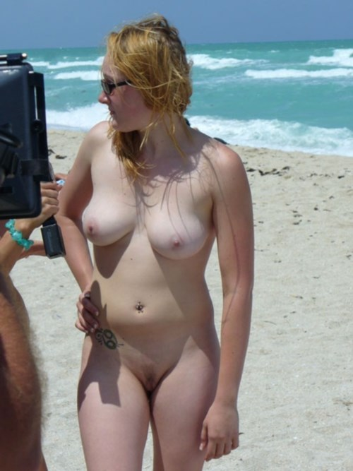 the on nude beach shemale
