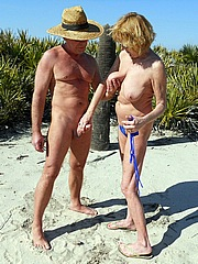 Picture of tin foil turkey bikini