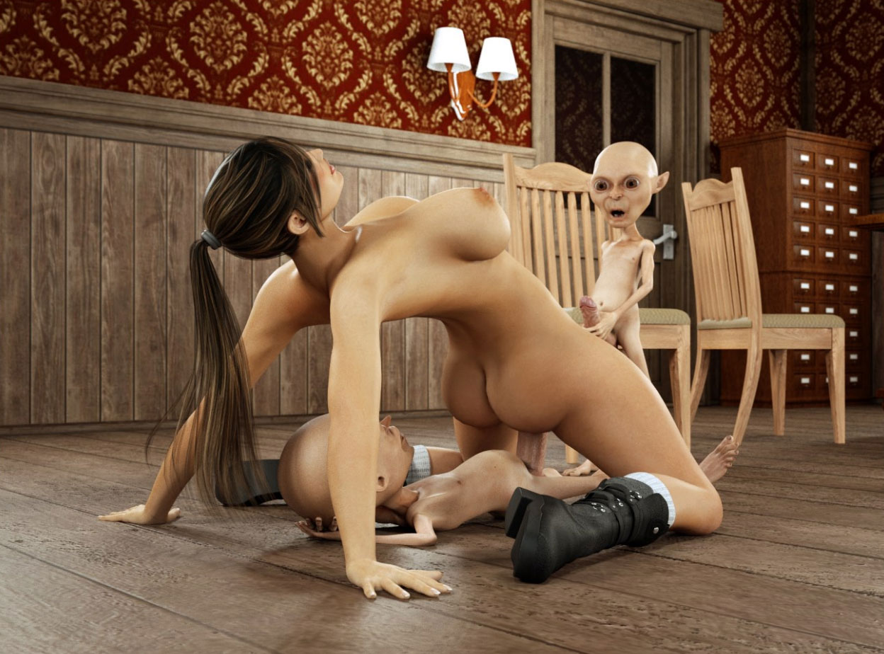 3d lara croft fucks goblin photos naked streaming