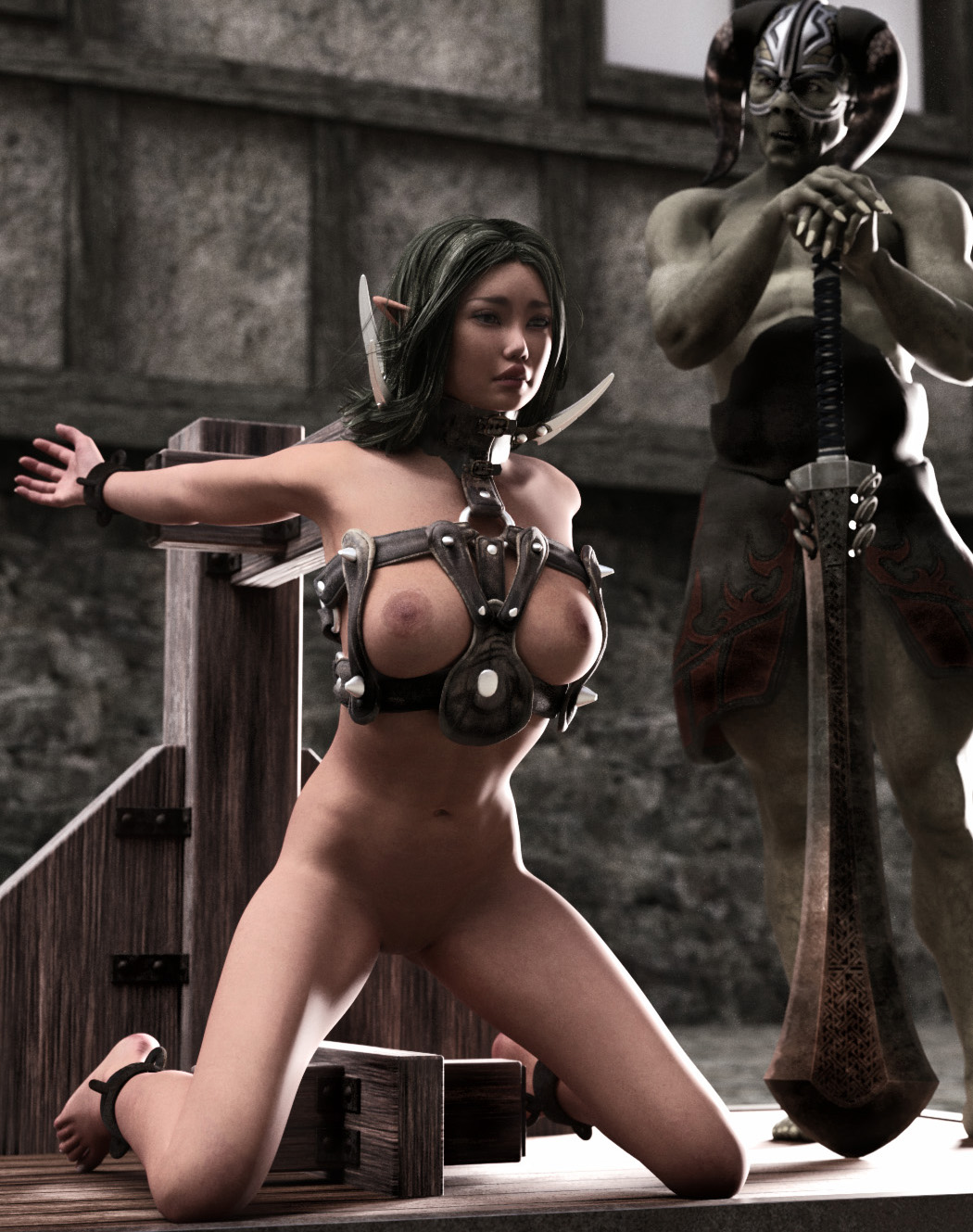 Nude warriors girls 3d wallpaper hentia image
