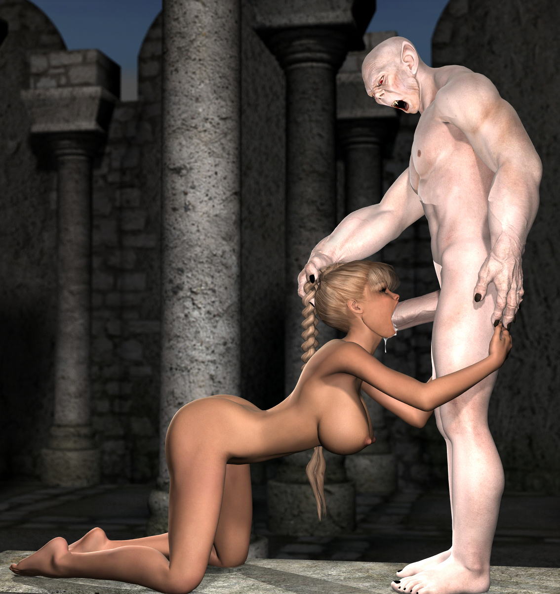 Sexy girl sexs monster 3d pict nudes picture