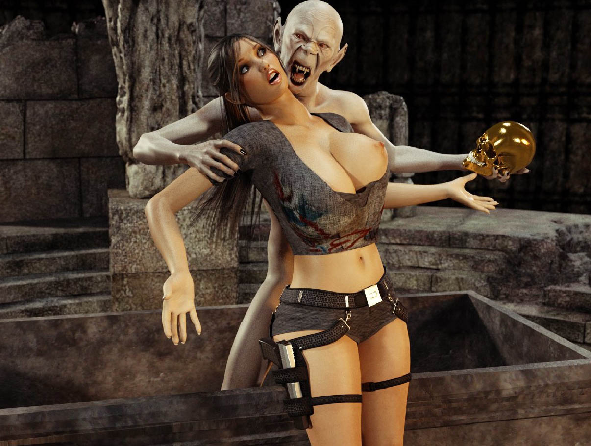 Hentai 3d tomb raider and goblins 3gp naked picture