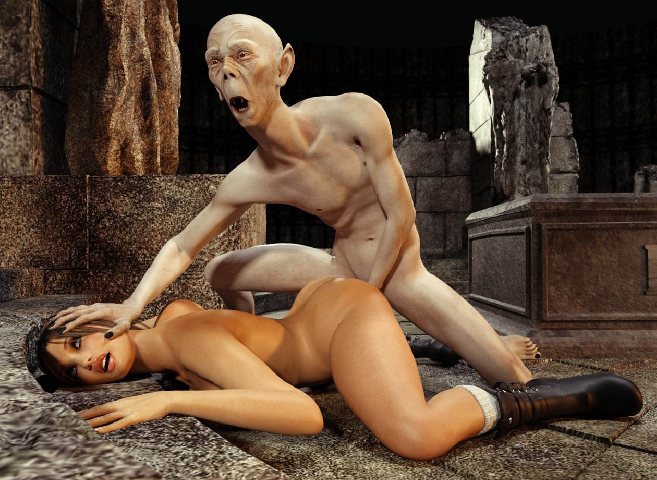 3d monster devil porn mp3gp sex scene