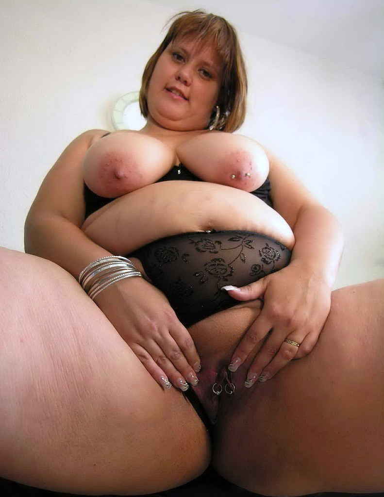 naked bbw fat Black