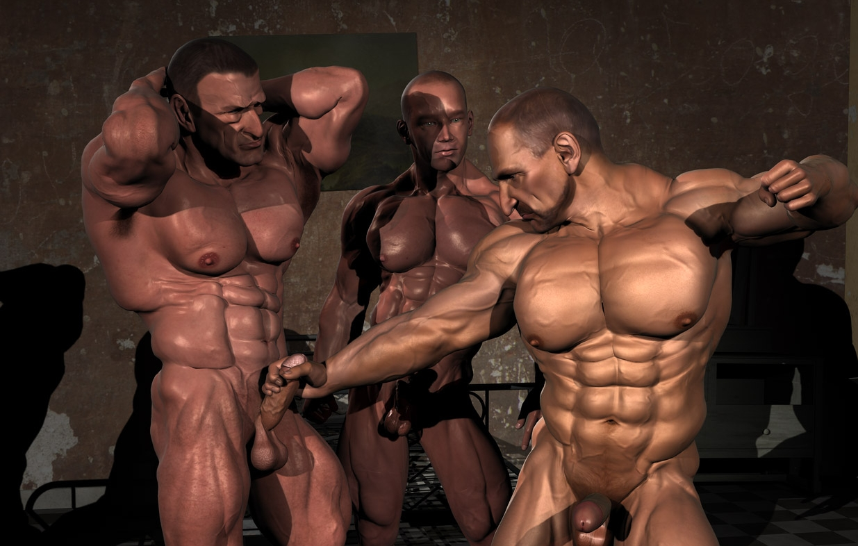 Muscular 3d porn gallery exposed photos