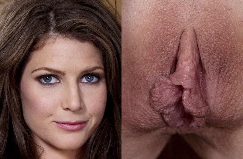 На фотографиях- лицо девушки и её вагина. . Есть мнение, что эти вещи как-
