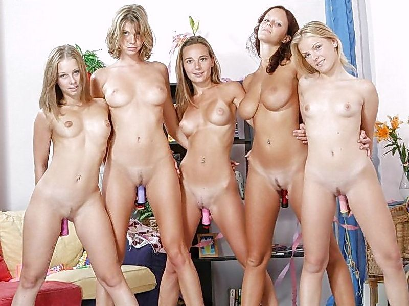 group girl naked