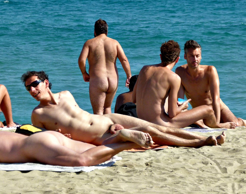 Gay male beaches
