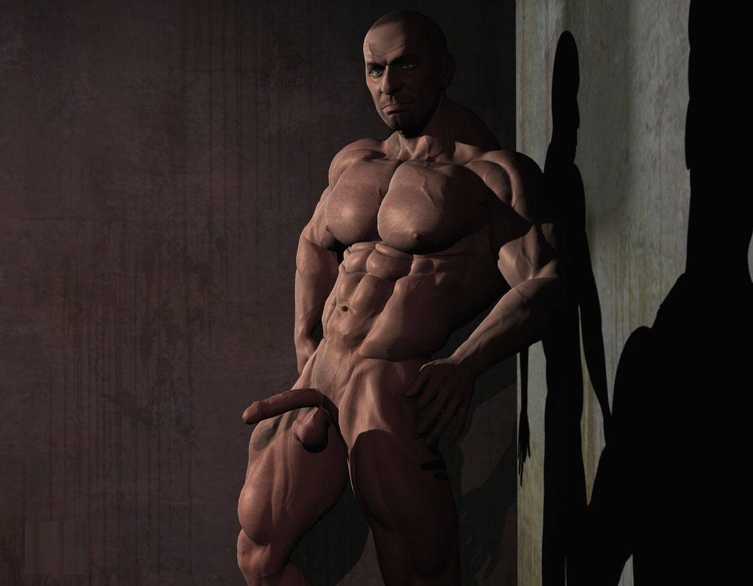 3d muscle gays with huge dicks 7