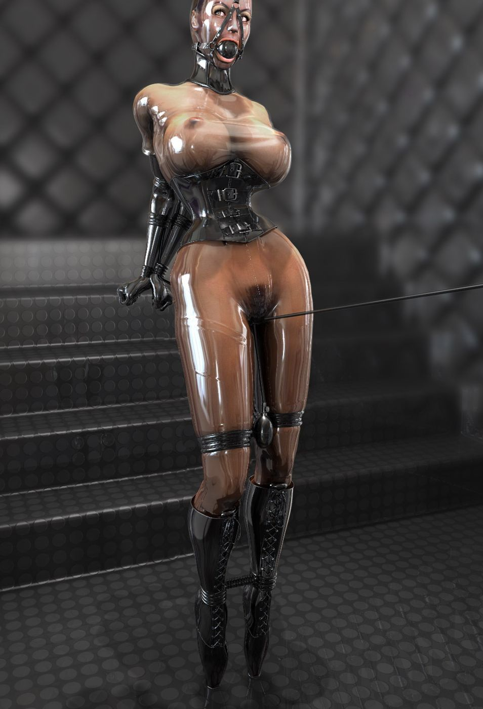 Bondage pics dark magician girl pornos clips