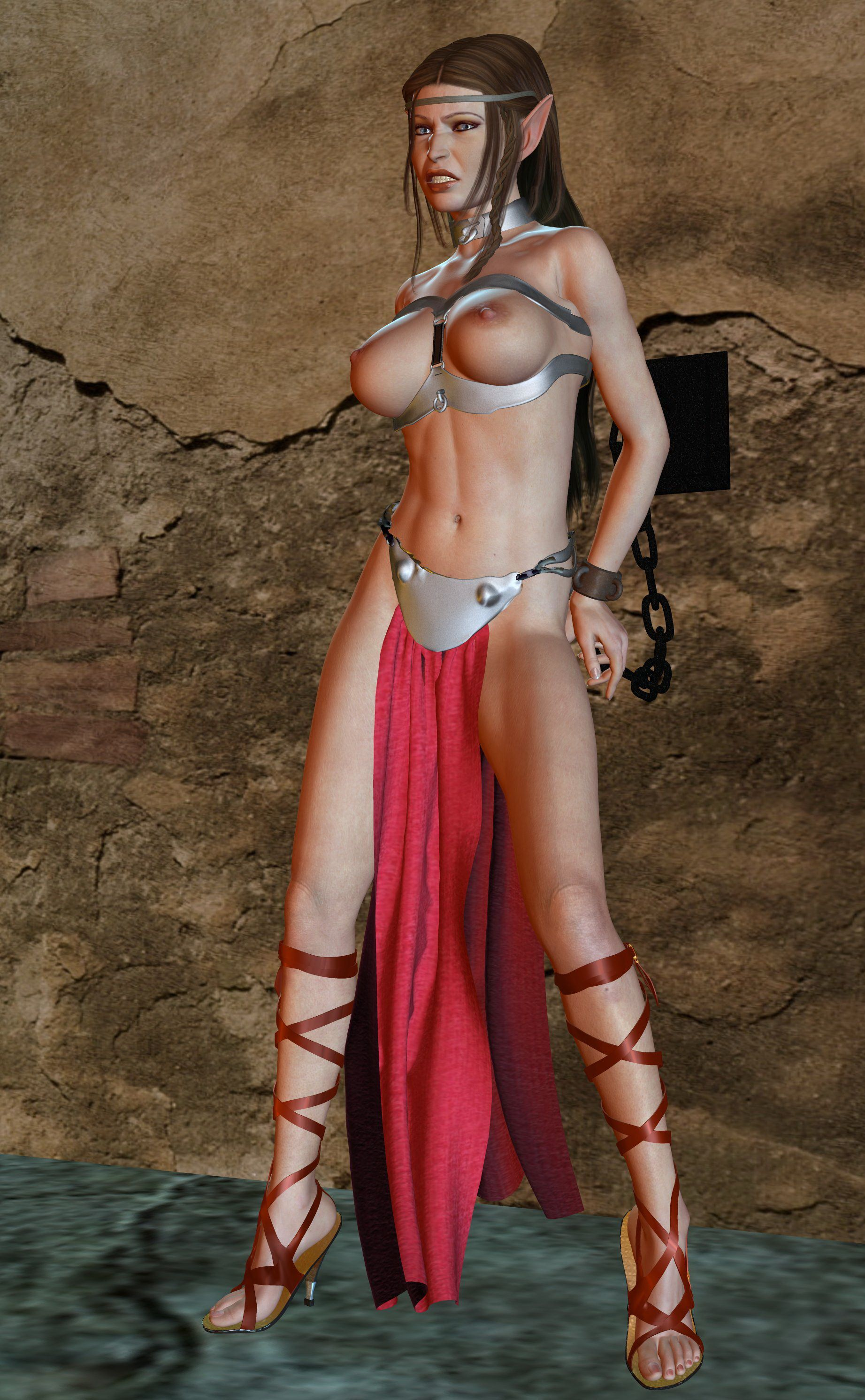 3d elf slave girl sex pic