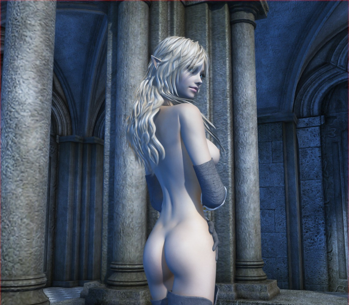 Elf's nude World of Porncraft archive nude galleries