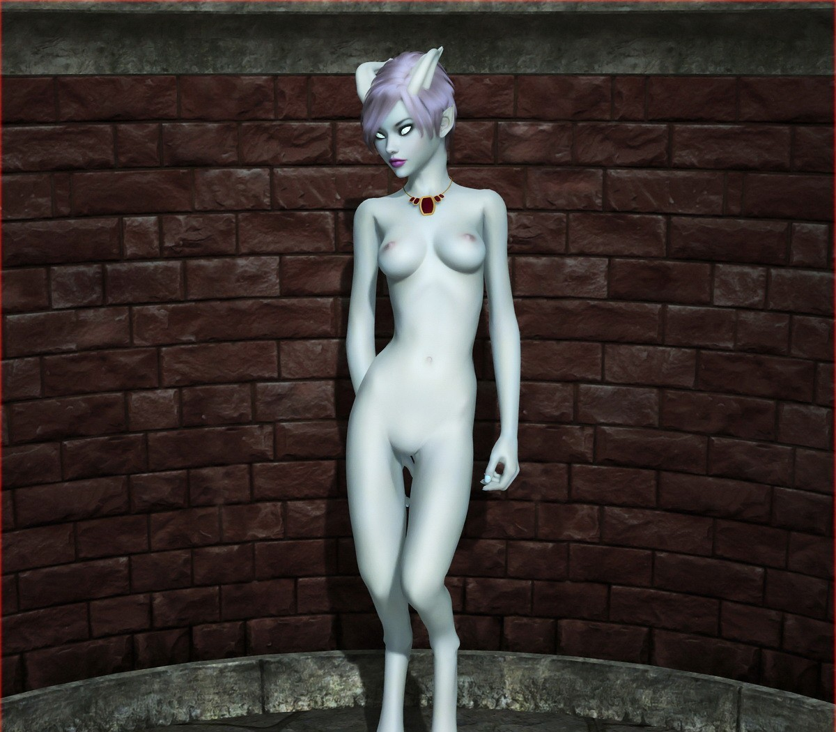 Draenei nude erotic photo