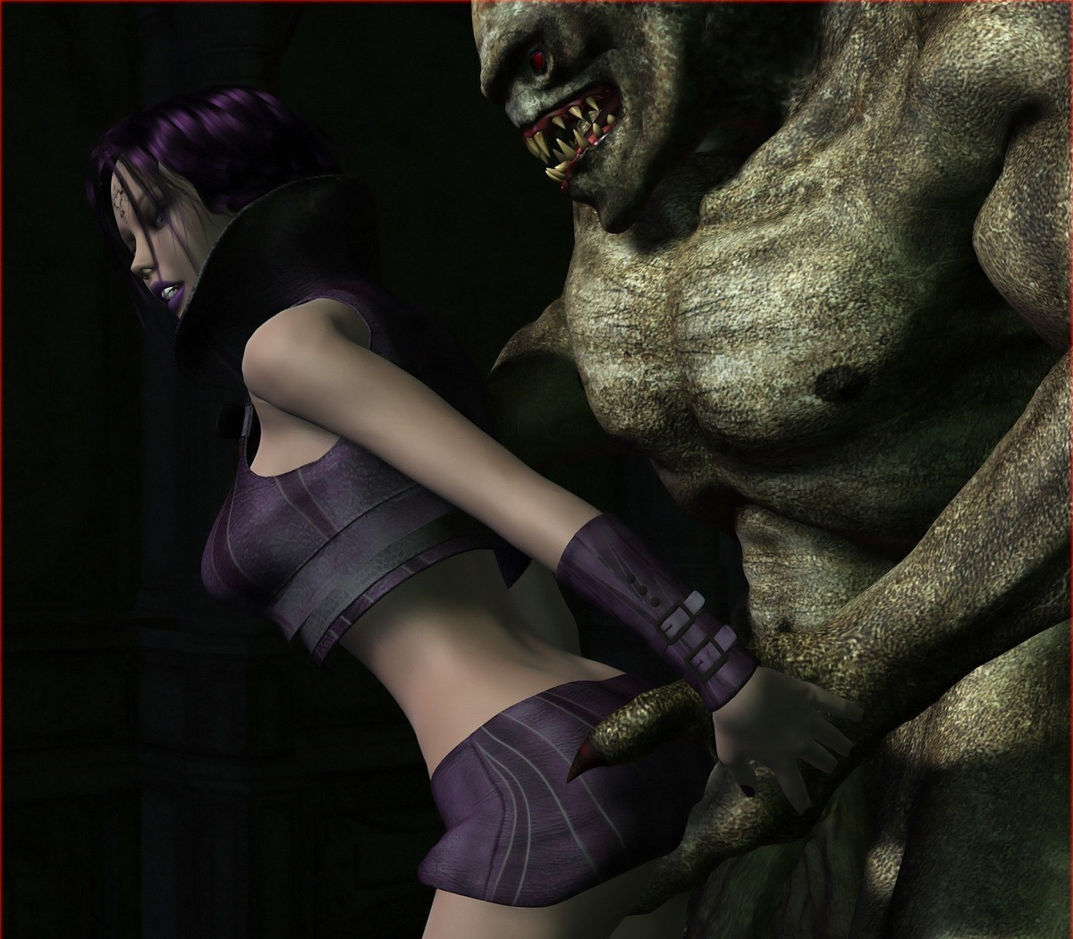 3d elf girl gets fucked by zombie adult clip
