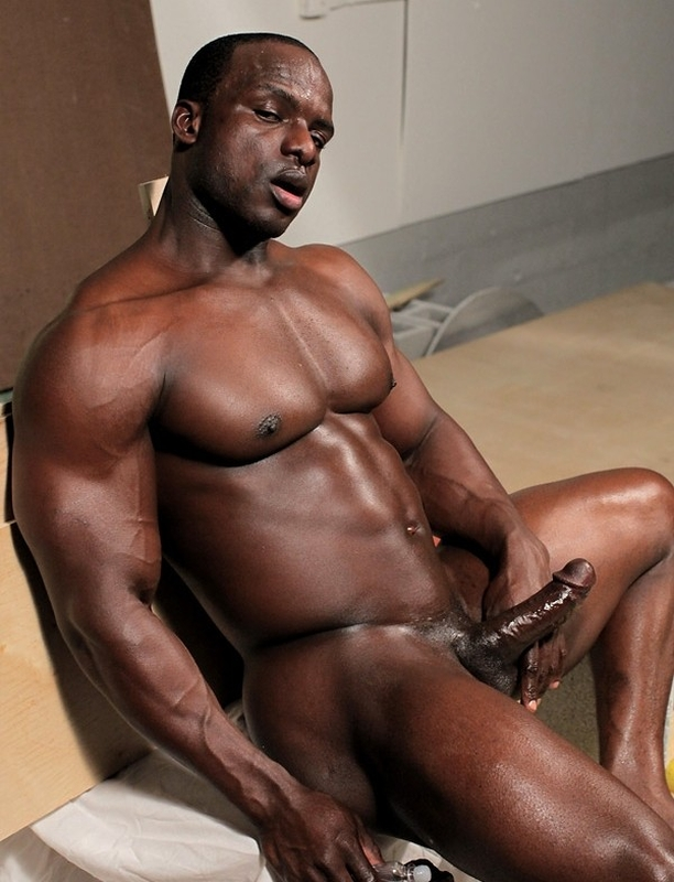 black guy showing dick