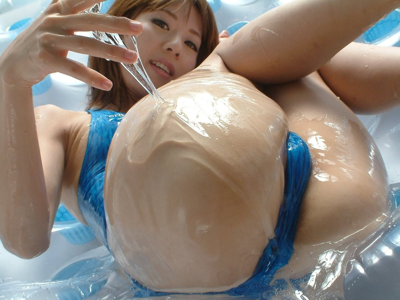 Naked boobs on slime smut pictures