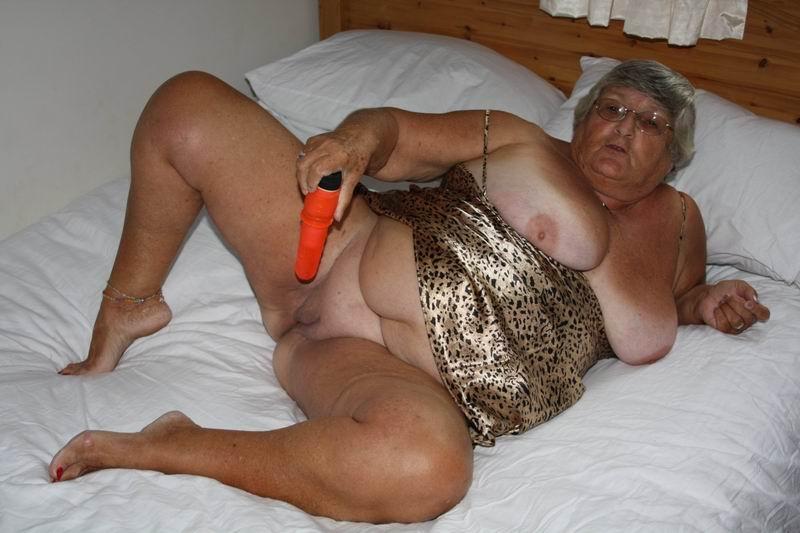 grannys huge breast