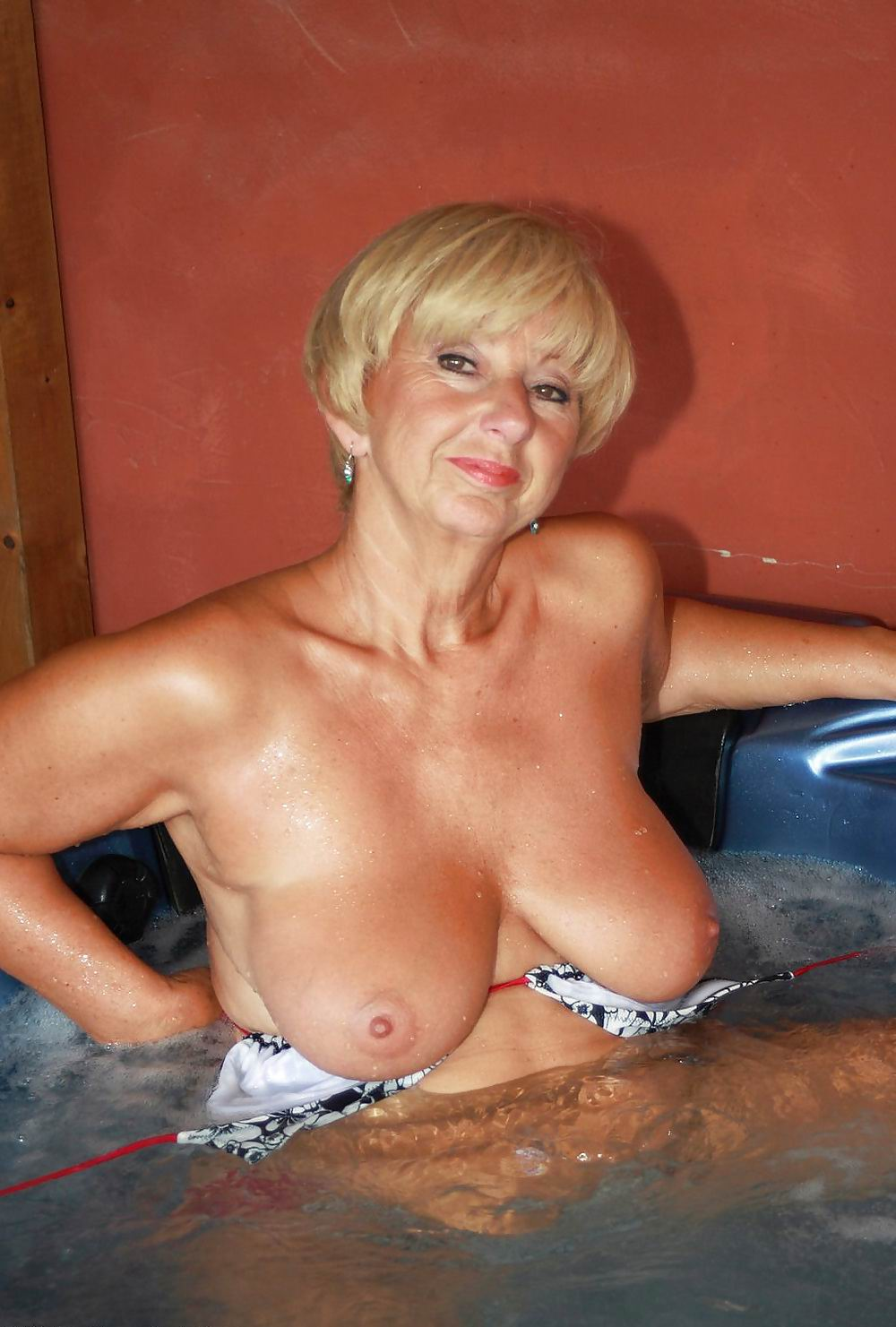 Granny With Big Boobs