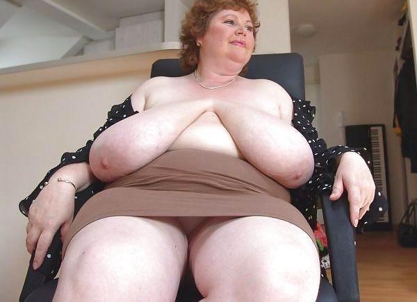 S big tits granny