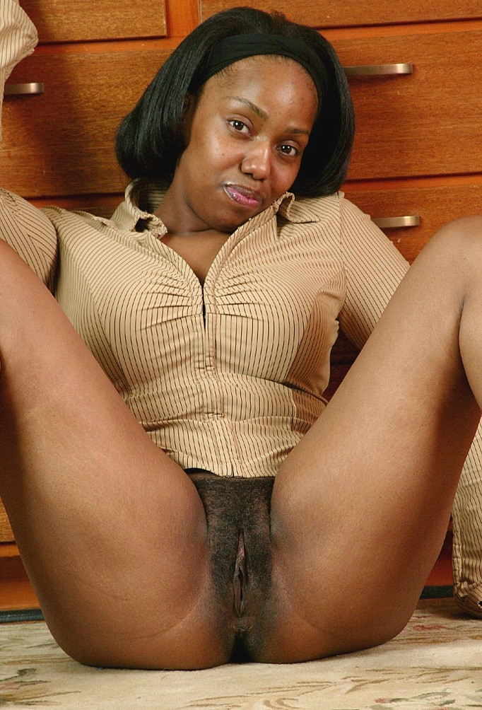 Solo Ebony Masturbation Couch