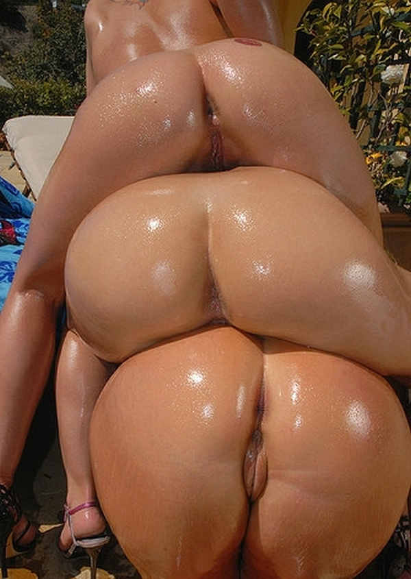 толстые жопы целлюлита в масле порно фото