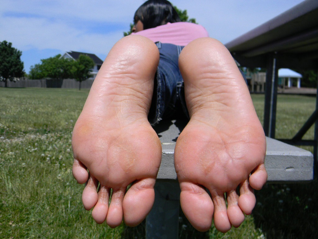 Mature feet and soles