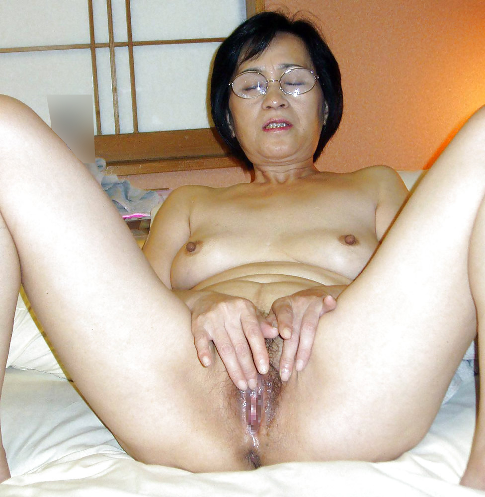 Old shaved asian cunts
