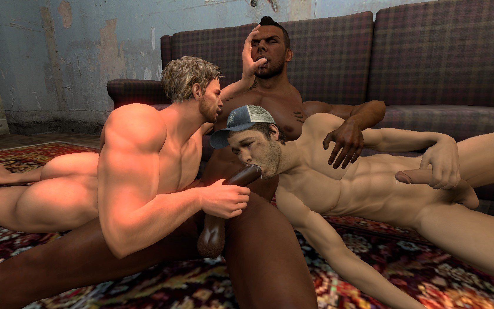 Ellis left for dead 2 3d gay  fucking gallery