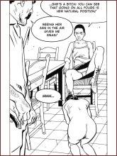BDSM comics `The Sex Slave`