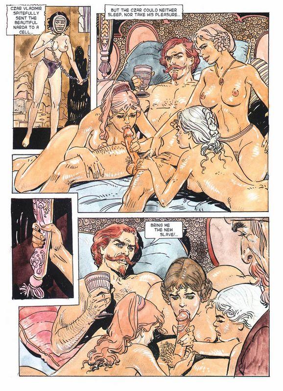 историческое комиксы порно