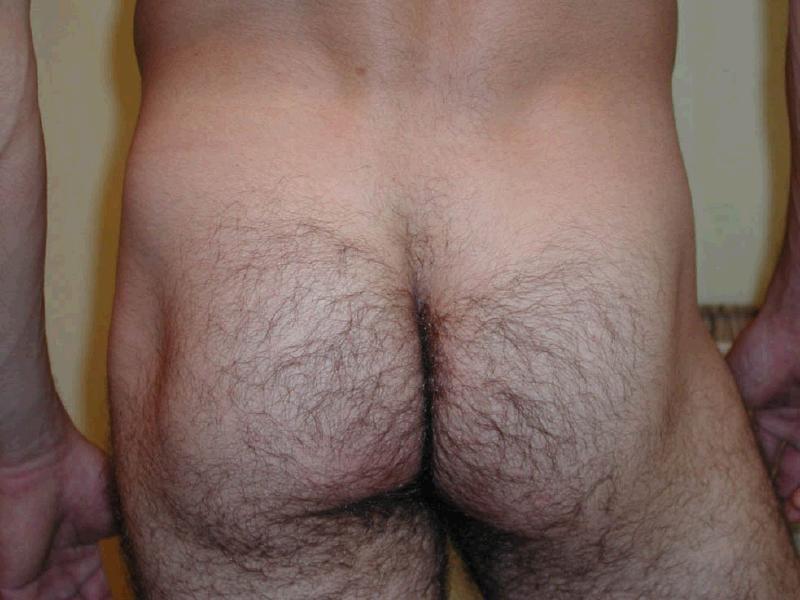 фото волосатой голой жопы