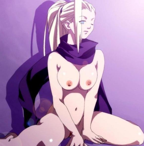 Naga Ino w sexownej pozycji!