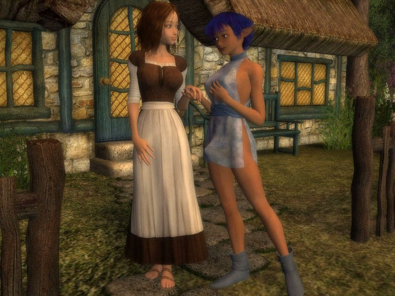 Charmed Realm of SEX - Free Gallery A half-elf