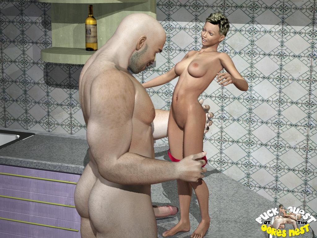 3 д порно женщины