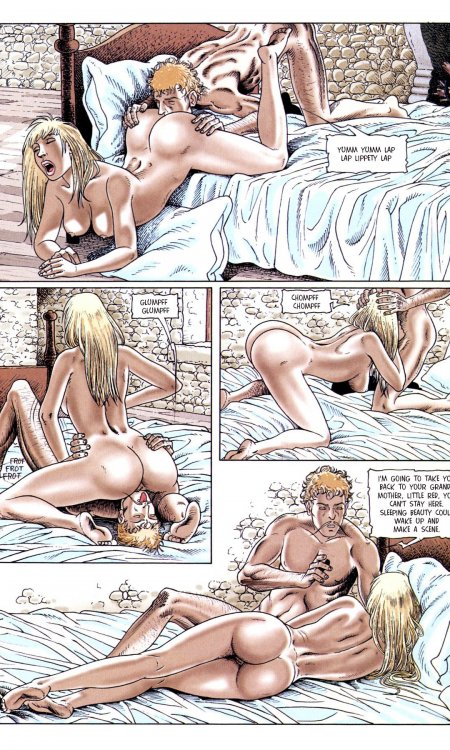 Oozing Erotic comic collections throwing