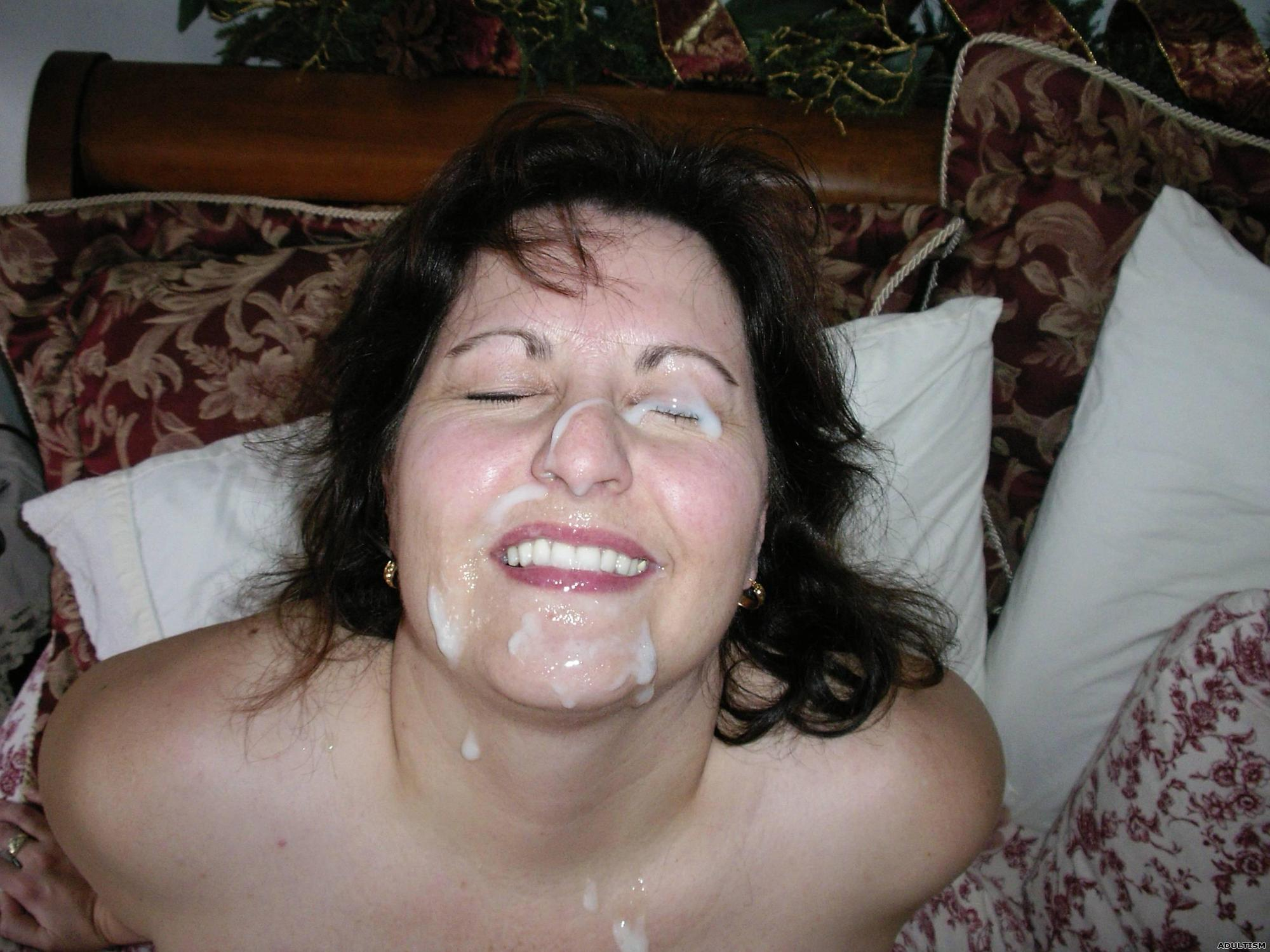 Homemade wife facial