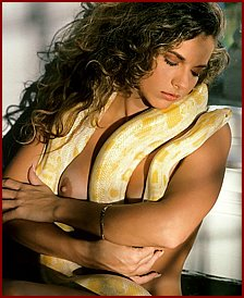 Kate Moss and other Celebs with snakes