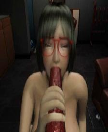 Order about Foureyes Girl fucked nigh all holes by brutal monster. 3D Video
