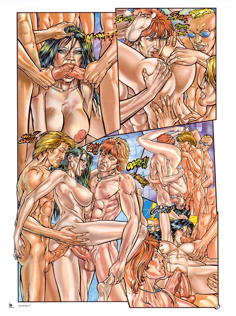 Cartoon porn image
