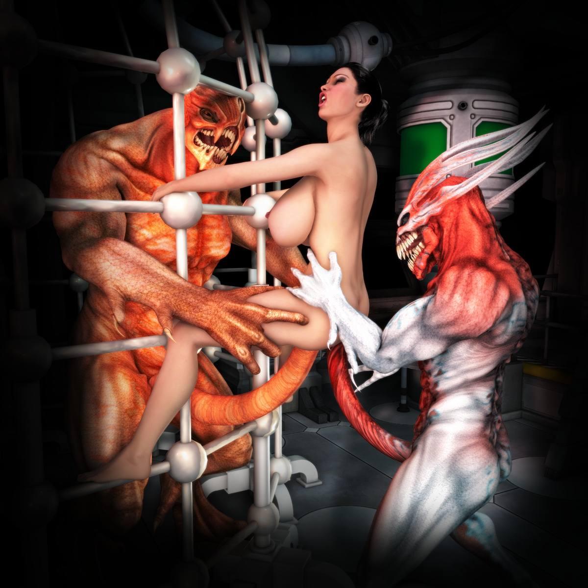 Cortoon monster fuck erotic clips