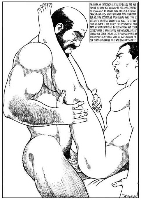 Hardcore gay hentai ...