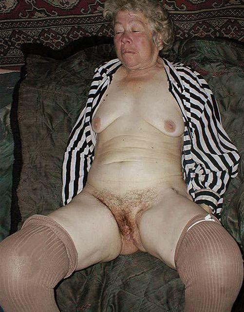 фото дряблой старухи голая