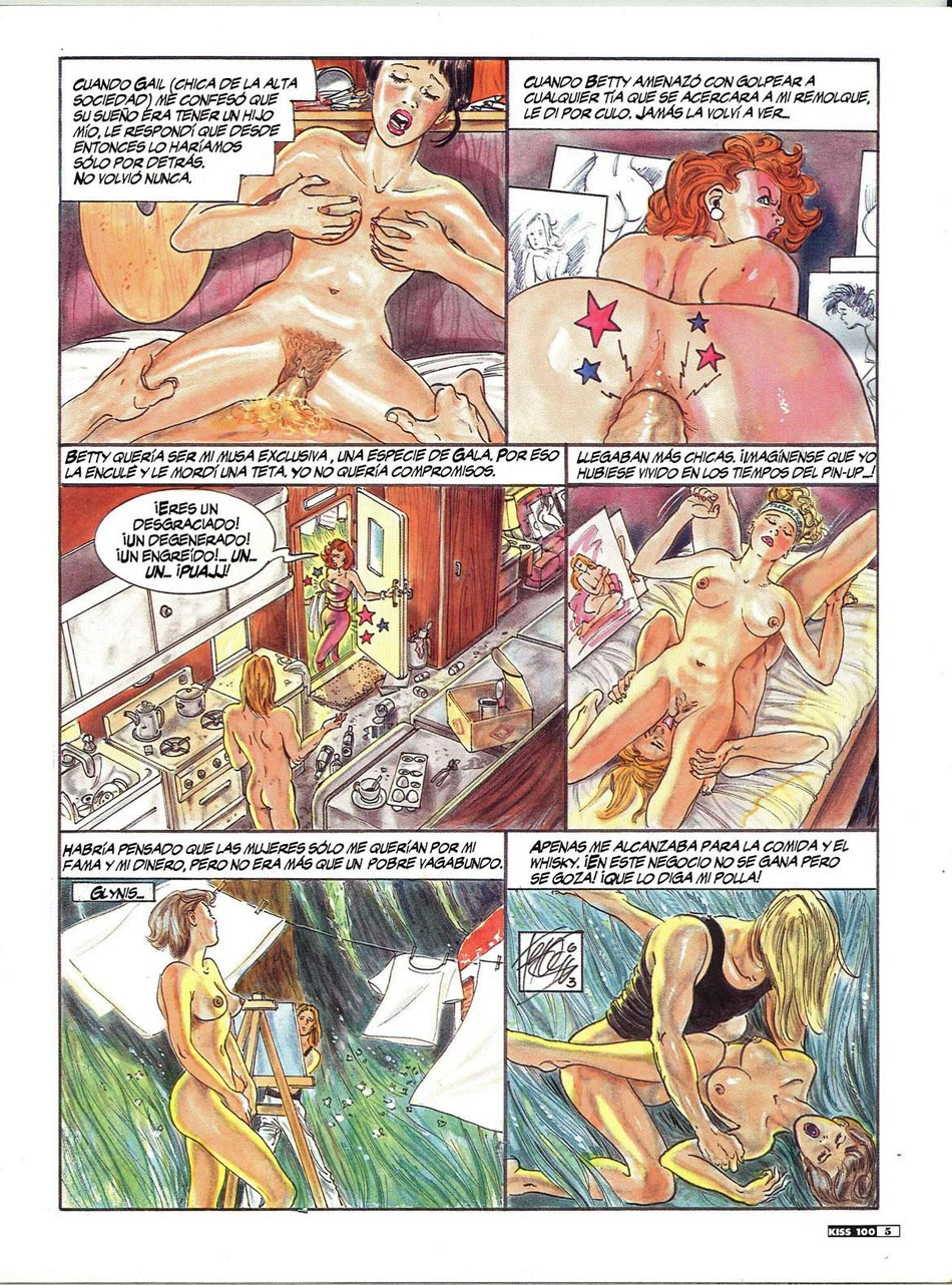 Adult comics for good old anal fuck lovers
