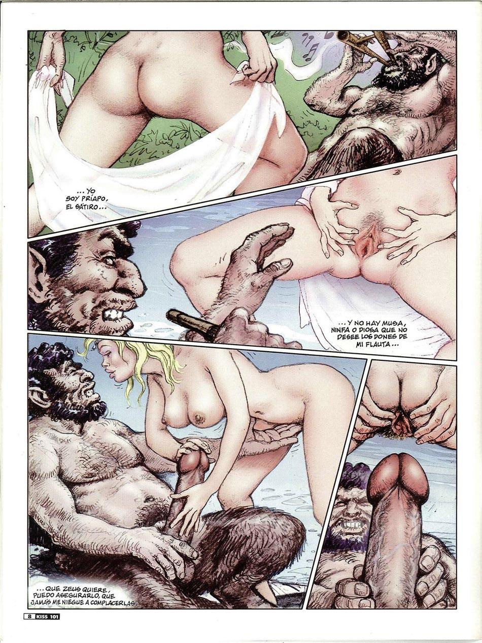 Сатиром сексе рассказы о с