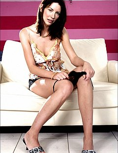 Skinny Brunette Babe Masturbating Over The Glass Coffee Table Xvid 32